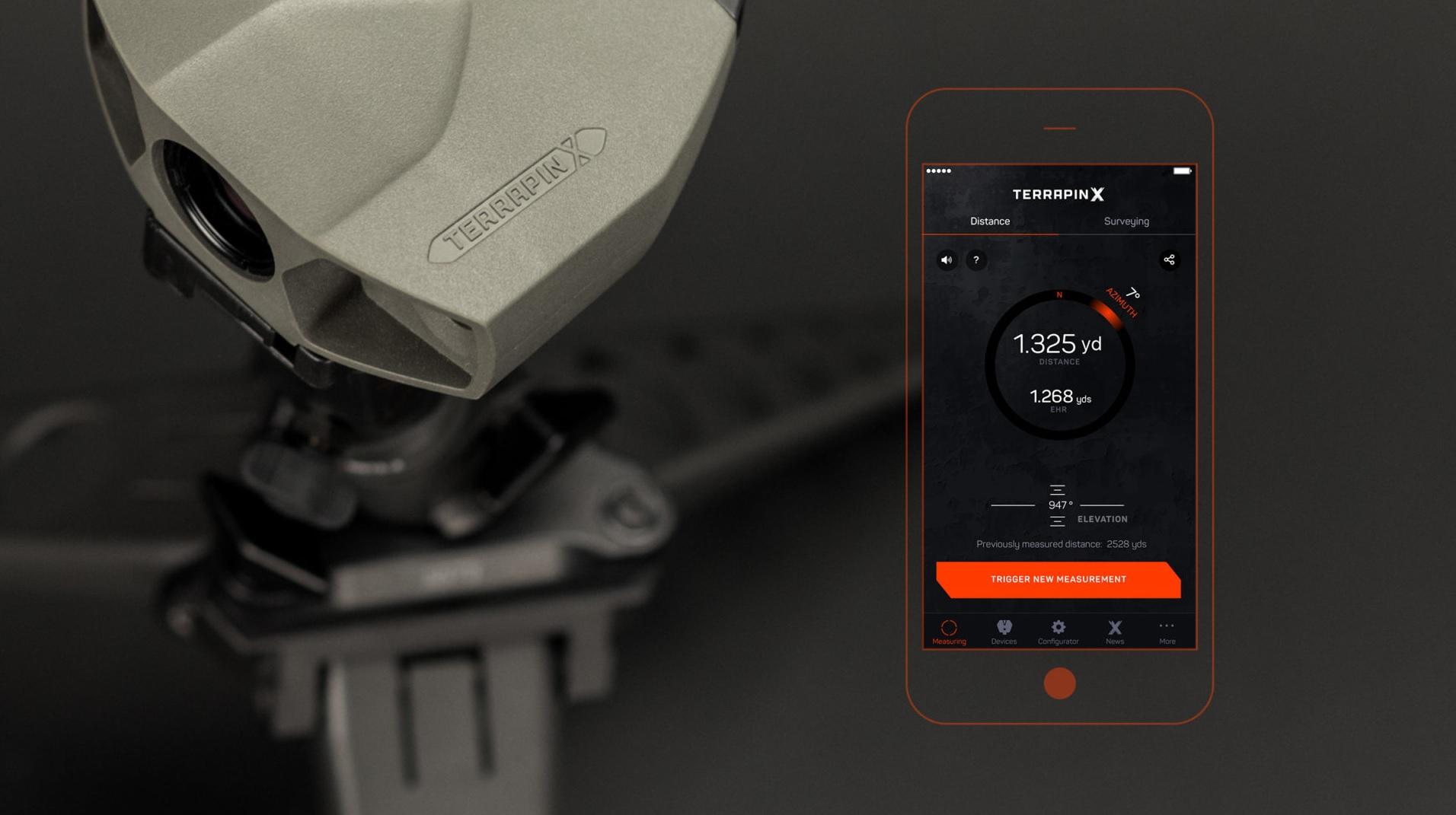 Laser Entfernungsmesser Duro : Laserentfernungsmesser terrapin x vectronix entfernungsmesser