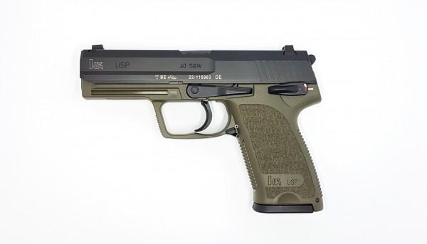 HK USP .40 green S&W