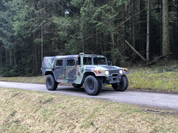 2004 AM General HMMWV M1123 Soft Top