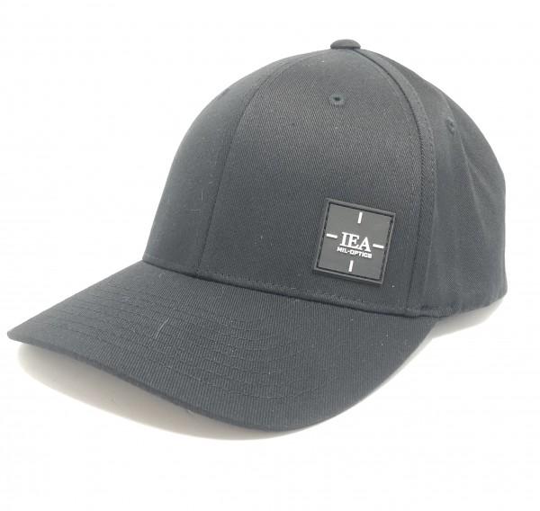 IEA Cap / Mütze Flexfit S-M schwarz