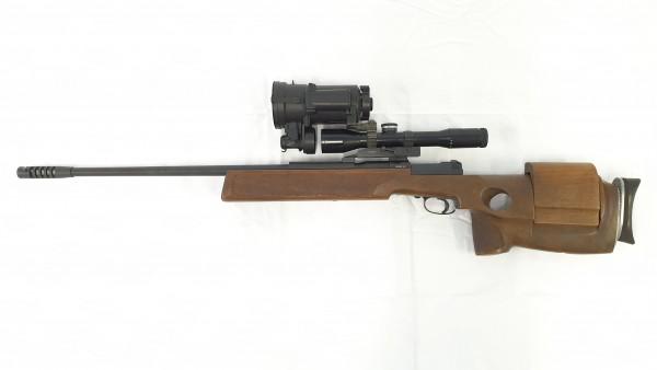 Mauser Mod. 66SP mit Nachtsivorsatzgerät