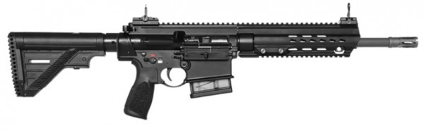 """HK MR308 A3, 13"""", schwarz m. Steiner 3-15x50 / auf Lager"""