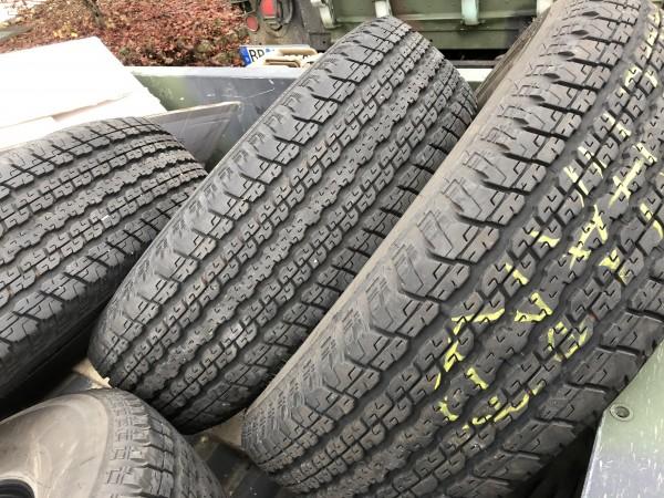 Reifen 255/70R18 Jeep Wrangler Sahara Bridgestone Dueler H/T