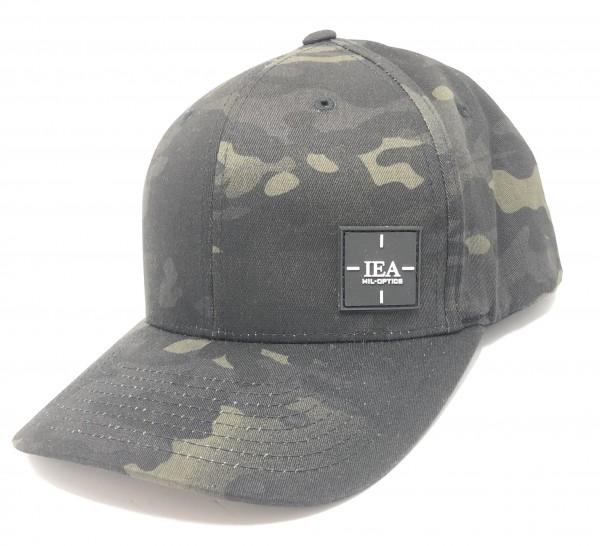 IEA Cap / Mütze Flexfit L-XL mulitcam black