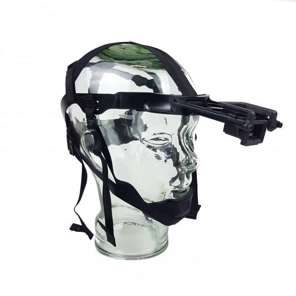 Kopfhalterung fix, Bajonett (NT940/Mini14)m. J-Arm