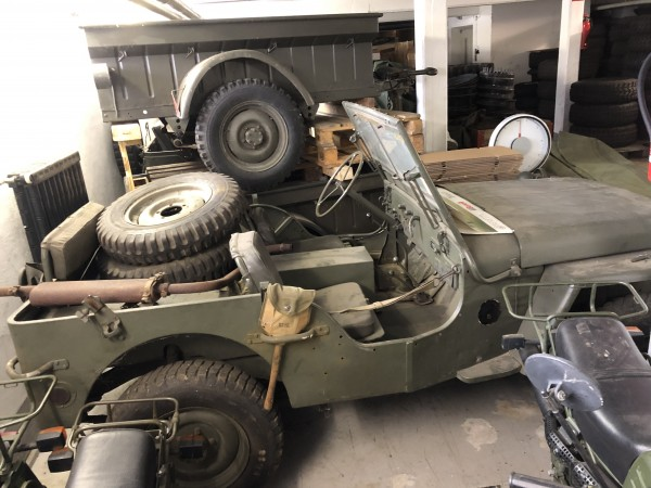 Jeep Willys 1945 orig. 12V Funker