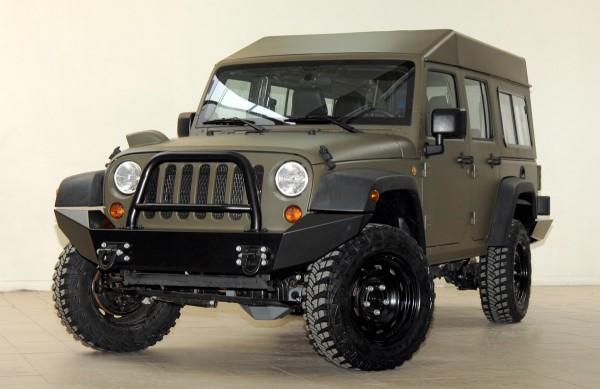 Jeep J8 4 door