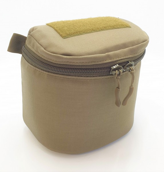 Tasche für binokulares Nachtsichtgerät steingrau / oliv