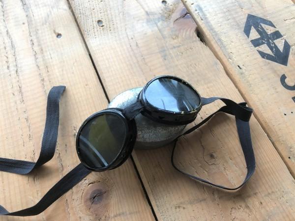 Schweizer Armee - Gletscherbrille alt 2 Stk.
