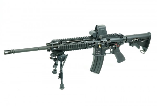 Heckler und Koch HK416 Schnittmodell