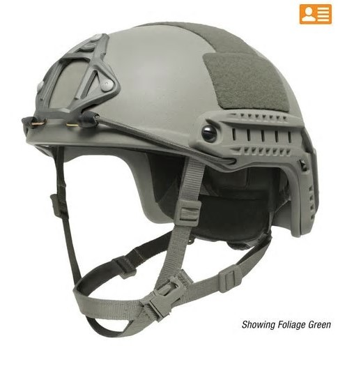 Helm Ops-Core Ballistic Foliage Green