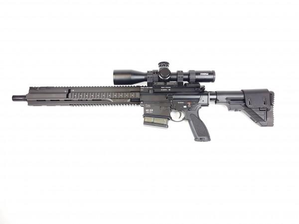 """HK MR308 A3-G28 16,5"""" schwarz m. Steiner 3-15x50 Tremor2 / auf Lager"""