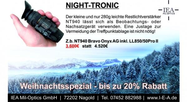 Weihnachtsspezial - NT940 Bravo AG Onyx Set