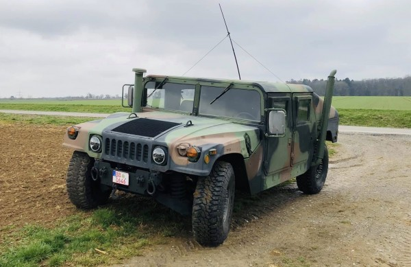 2005 AM General HMMWV M1045A2 Slant Back