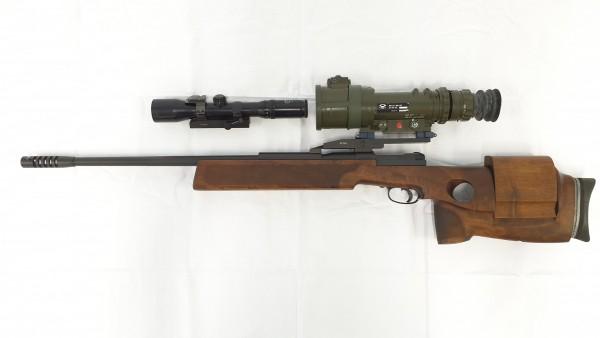 Mauser Mod. 66SP mit Zielfernrohr und Wechselmontage - Oldelft Nachtsichtzielgerät