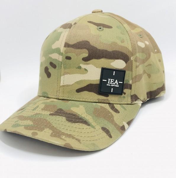 IEA Cap / Mütze Flexfit L-XL mulitcam