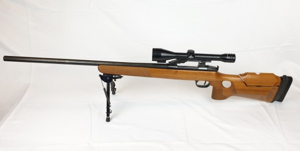 Scharfschützengewehr Walther JR mit ZF Hertel & Reuss 3-10x50