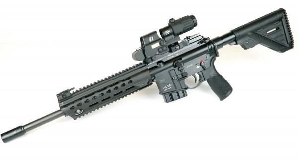 """HK MR223 A3 14,5"""" Slim Line mit EOTECH EXPS3-0 und Booster G33"""