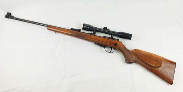 Carl Walther Gewehr mit Zielfernrohr